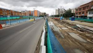 La obra de la calle 183 presenta un avance del 56 por ciento.