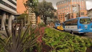 La calle 72 fue uno de los corredores recuperados por la Alcaldía Peñalosa.