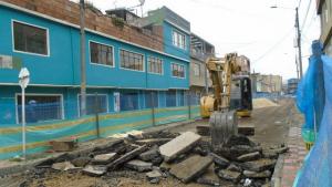 Calles de Bosa - FOTO: Prensa Empresa de Acueducto y Alcantarillado