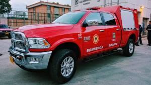 Camionetas bomberos - FOTO: Prensa Secretaría de Seguridad