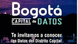 Asista al lanzamiento de la plataforma de Datos de Bogotá.