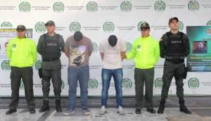 Capturados policía - FOTO: Prensa Mebog