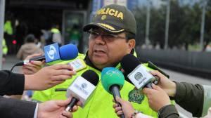Capturas de venezolanos en TransMilenio - FOTO: Prensa MEBOG