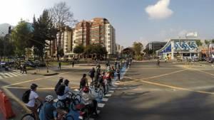 Ciclorruta carrera 11 - Foto: Prensa Movilidad