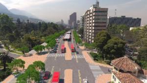 El aire de la Carrera Séptima con TransMilenio será más limpio gracias a menos buses de última tecnología.
