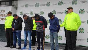 Cayeron ´los Gomelos de Engativa´- FOTO: Prensa MEBOG