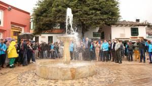 Chorro de Quevedo renace - Foto: Prensa Alcaldía Mayor de Bogotá