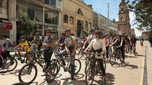 Bogotá se perfila como referente mundial en el uso de la bici. - FOTO: Instituto Distrital de Turismo