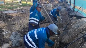 Reconstrucción de ciclorruta de la Autopista Norte entre calles 145 y 149 - Foto: Comunicaciones IDU