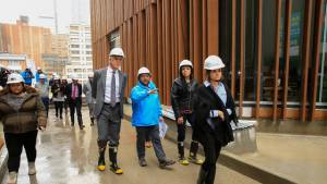 Alcalde Peñalosa inspeccionó el avance de las obras de la nueva Cinemateca de Bogotá