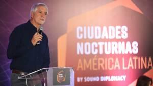 Alcalde Enrique Peñalosa en la conferencia 'Ciudades Nocturnas' Foto: Alcaldía de Bogotá