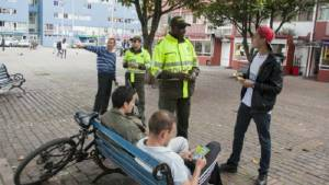 Inspectores y Código de Policía - FOTO: Prensa Mebog