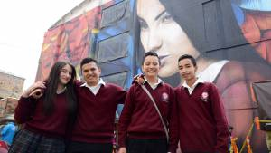 Convivencia escolar en Bogotá - Foto: Prensa Secretaría de Educación