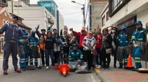 Limpieza de colillas - FOTO: Prensa IDPAC.