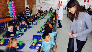 Apertura comedor escolar en Ciuda Bolívar - Foto: Prensa Secretaría de Educación