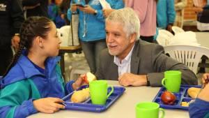 Programa de Alimentación Escolar en Bogotá - Foto: Comunicaciones Alcaldía Bogotá / Diego Bauman