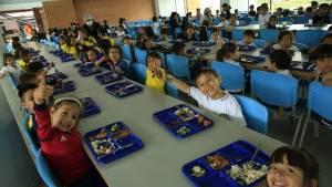 Comedor Escolar colegio La Felicidad - Foto: Comunicaciones Alcaldía / Diego Bauman