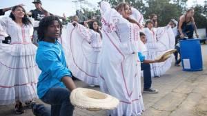 Con música y baile, niños de Idiprón recibirán al papa - Foto: Alcaldía Mayor de Bogtá/Diego Baumán