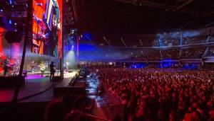 Concierto de prueba en el Movistar Arena - FOTO: Consejería de Comunicaciones