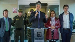 Consejo extraordinario de seguridad - FOTO: Consejería de Comunicaciones Alcaldía Mayor de Bogotá