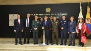 Consejo de seguridad con presidente Duque y alcalde Peñalosa - Foto: Comunicaciones Alcaldía  / Diego Bauman