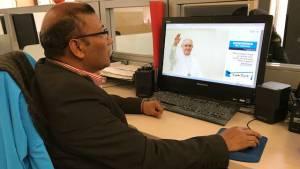 Consultando recorridos del Papa Francisco - Foto: bogota.gov.co