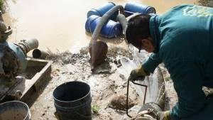 Contaminación Río Tunjuelo - Foto: Prensa Secretaría de Ambiente