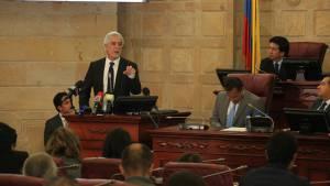 Debate Congreso sobre Reserva Van Der Hammen - Foto: Prensa Alcaldía Mayor de Bogotá / Diego Bautista