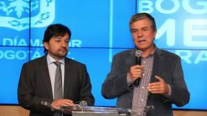 Declaraciones sobre filtros en los buses - Foto: Comunicaciones Alcaldía Bogotá / Diego Bauman