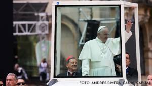 En Papamóvil, Francisco se despide de Bogotá: estos son los cierres y desvíos
