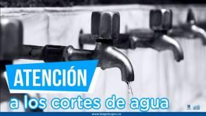 Banner cortes de agua - Foto: Alcaldía Mayor de Bogotá