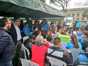 Diálogo ciudadano - FOTO: Prensa Bomberos