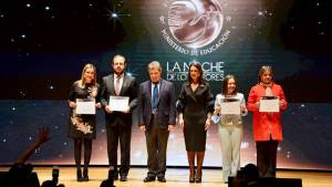 El reconocimiento fue hecho en la gala la 'Noche de los Mejores'. Foto: Archivo Particular