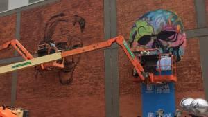 Distrito grafiti - FOTO: Secretaría de Cultura, Recreación y Deporte