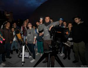 Prepárese porque en Bogotá se podrá ver el eclipse de sol del 21 de agosto - Foto: Idartes- Carlos Lema