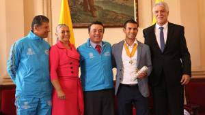 El Distrito ha apoyado directamente a Éider Arévalo - Foto: Alcaldía Mayor de Bogotá