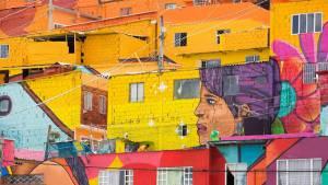 Embellecimiento de fachadas en Bogotá - Foto: Comunicaciones Alcaldía Bogotá