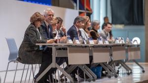 Alcalde Enrique Peñalosa en el XIII Encuentro de Jurisdicción Constitucional