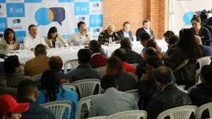 Encuentros ciudadanos .- FOTO: Prensa Secretaría de Gobierno