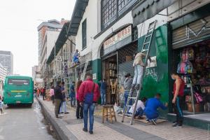 El Instituto Distrital de Patrimonio Cultural ha intervenido más de 1020 fachadas patrimoniales en la localidad de La Candelaria