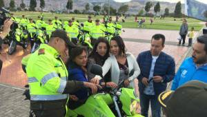 Entrega de equipos: FOTO: Prensa Secretaría de Seguridad