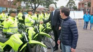 Entrega de motos para San Cristóbal y Ciudad Bolívar -  Foto: Prensa Comunicaciones Alcaldía Bogotá