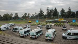 Entrega parrque automotor a la Policía de Bogotá -  Foto: Comunicaciones Alcaldía Bogotá / Andrés Sandoval