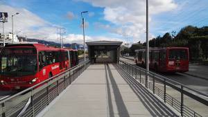 Estaciones de TransMilenio - Foto: Alcaldía Mayor de Bogotá