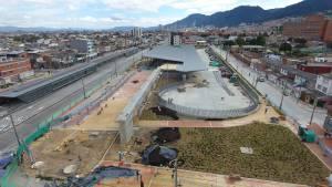 Estación intermedia en la Av Primero de Mayo - Foto: Prensa IDU