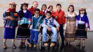Estudiantes con discapacidad - Foto: Secretaría de Educación