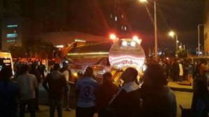 Explosión Bogotá - FOTO: cortesía @guille_cardona