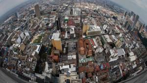 Exposición 'De la Tierra al cielo, Bogotá desde arriba' - Foto: IDPC/Carlos Lema