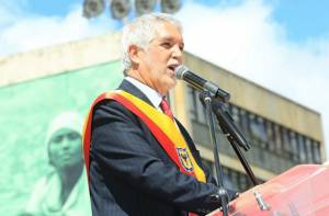 Alcalde Peñalosa - Portal Bogotá - Foto: Prensa Alcaldía Mayor