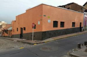 Fachada recuperada - Foto:Margarita Mejía - Instituto Distrital de Patrimonio Cultural (IDPC)